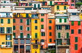 Cinque terre house style Stock Photography