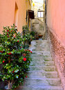 Cinque terre italy corniglia colorful fishermen village Stock Photo