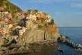 Cinque terre manarola italy village Stock Photos
