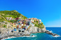 Cinque Terre national park, Liguria, Italy Royalty Free Stock Photo