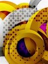 Circle background design