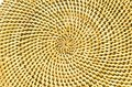 Circle background from rattan fibers Stock Images