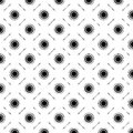CIRCLE BLACK AND WHITE BACKGROUND Royalty Free Stock Photos