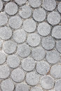 Circle cement for pattern background. Royalty Free Stock Photo