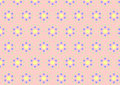 Circle Clasper Pattern on Pastel Color Royalty Free Stock Photos