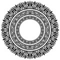Circle frames Royalty Free Stock Photo