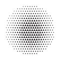 Circle halftone background