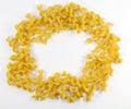 Circle noodles Стоковая Фотография RF