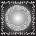 Circle And Quad Ornament Frames Stock Image