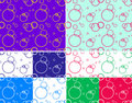 Circle seamless Stock Images