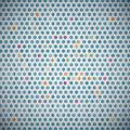 Circle textile background abstract retro Stock Images