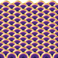Circle wave pattern Royalty Free Stock Photo