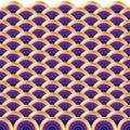 Circle wave pattern Royalty Free Stock Photo