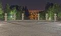 Circles alexandru ioan cuza park bucharest romania Royalty Free Stock Photography