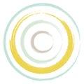 Circles Brush Pastel Two