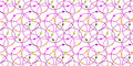 Circles and dots seamless pattern background