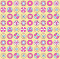 Circles pattern Stock Images
