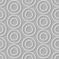 Circles of seamless background. Abstract seamless pattern retro Royalty Free Stock Photo