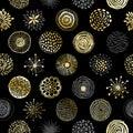 Circles texture seamless pattern