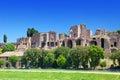 Circo Maximus.Ruins della collina del Palatine, Roma, Italia. Fotografia Stock