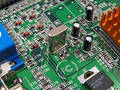 Circuit Board Stock Image
