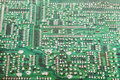 Circuit board closeup of the electronic background Stock Photography