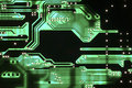Circuit board complexity technolgy computer Stock Image