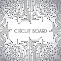 Circuit board design Royalty Free Stock Photo
