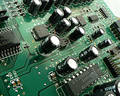 Circuit Board I Royalty Free Stock Photo