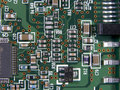 Circuit Board Macro Stock Photo