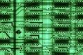 Circuit board technology computer electronics Royalty Free Stock Photos