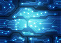 Circuit board technology, vector background