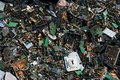 Circuit board trash Royalty Free Stock Photo