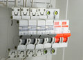 Circuit breakers Royalty Free Stock Photo