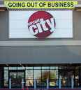 Circuit City Going Out of Business Royalty Free Stock Images