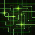 Circuit Electric Board abstract background Royalty Free Stock Photo