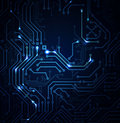 Circuit image abstract background of modern digital Stock Photos