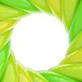 Circular Abstract Frame Made O...