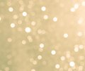 Circular bokeh background daylight in the forest nature abstract Royalty Free Stock Photo