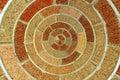 Circular Brick Pattern Royalty Free Stock Photo