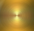 Circular brushed metal texture. Golden shiny background Royalty Free Stock Photo