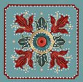 Circular pattern in form of mandala