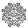 Circular Pattern Mandala With ...
