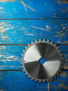 Circular saw blade Royalty Free Stock Photo