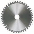 Circular saw blade universal work wood object isolated white background shadows Stock Photography