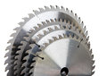Circular saw blades tool industrial construction still life on a white background Royalty Free Stock Photo