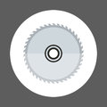 Circular Saw Icon Working Hand Tool Equipment Concept Royalty Free Stock Photo