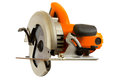Circular saw isolated on a white background Stock Photos