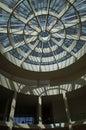 Circular skylight at a museum modern art museum munich germany Stock Photos