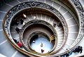 Circular Stairway in The Vatican - Rome, Italy Royalty Free Stock Photo